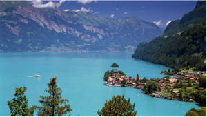 Lake Brienz, Iseltwald, Switzerland_wallpapersnewhd.com