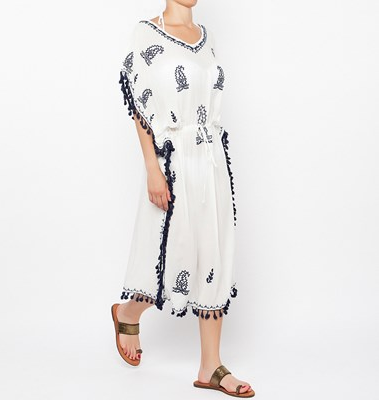 BSB Kaftan with tassels embroidered