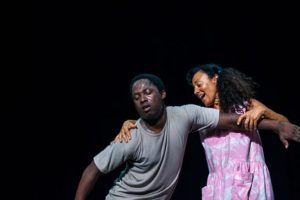 Panaibra Gabriel Canda & Maria João. Photography @theaterspektakel