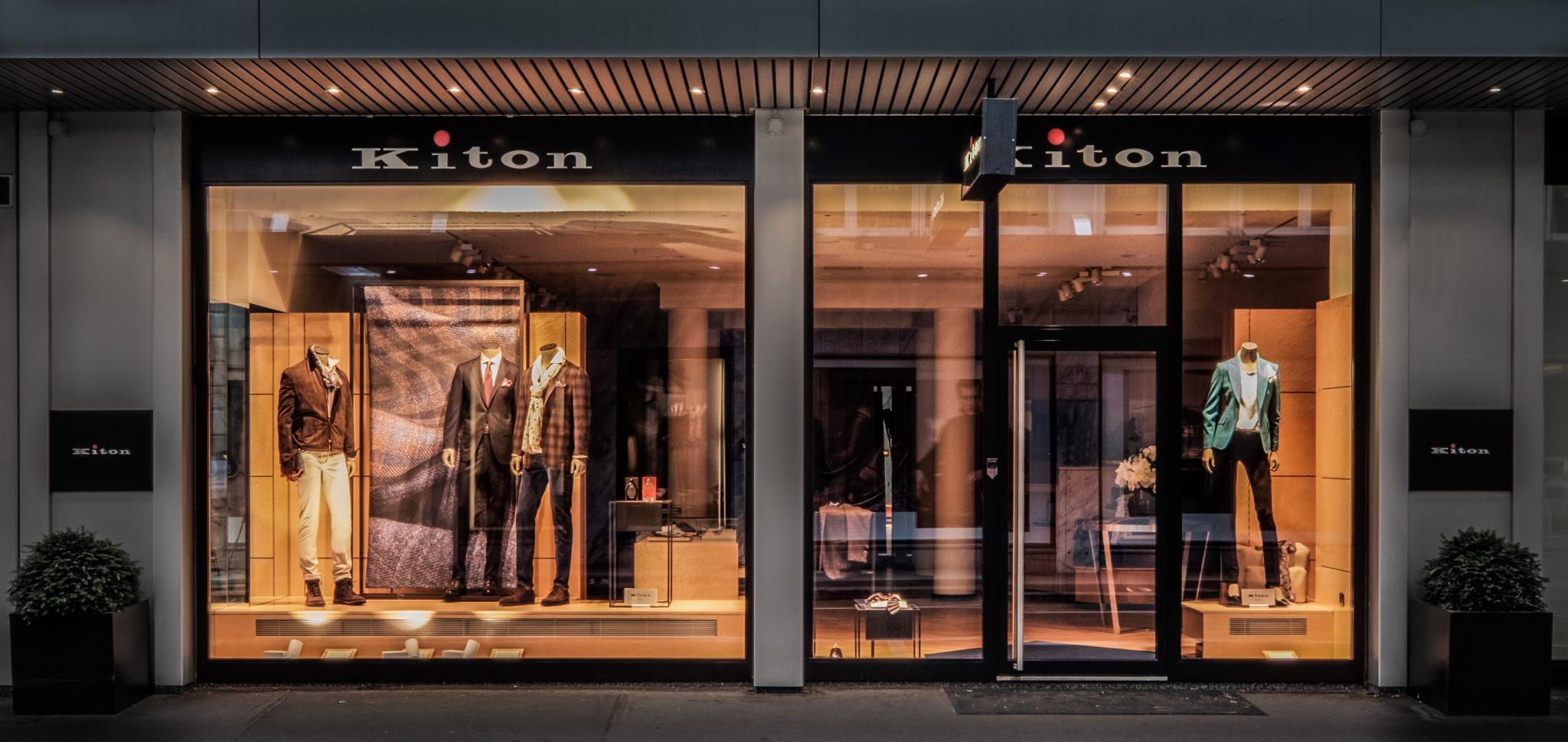 Kiton Zurich front