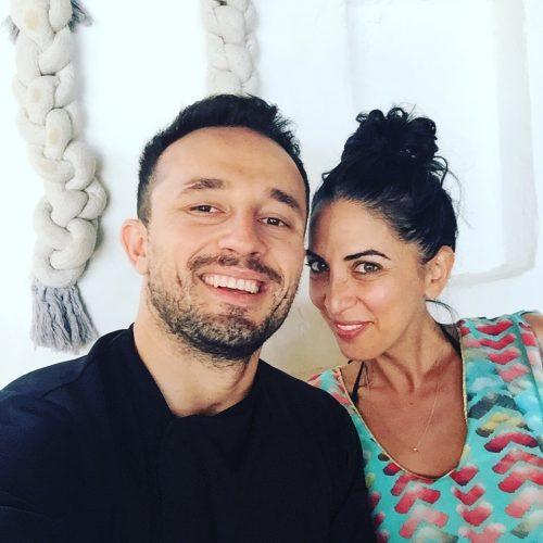 Chef Marios Tsouris and I