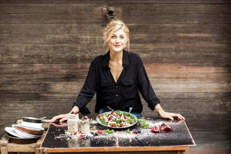 Behind Eat Better Not less best-selling book: Nadia Damaso