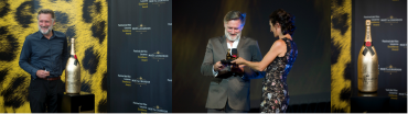 Bill Pullman nimmt in Locarno den Excellence Award Moët & Chandon entgegen