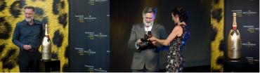 Bill Pullman nimmt in Locarno den Excellence Award Moët & Chandon entgegen