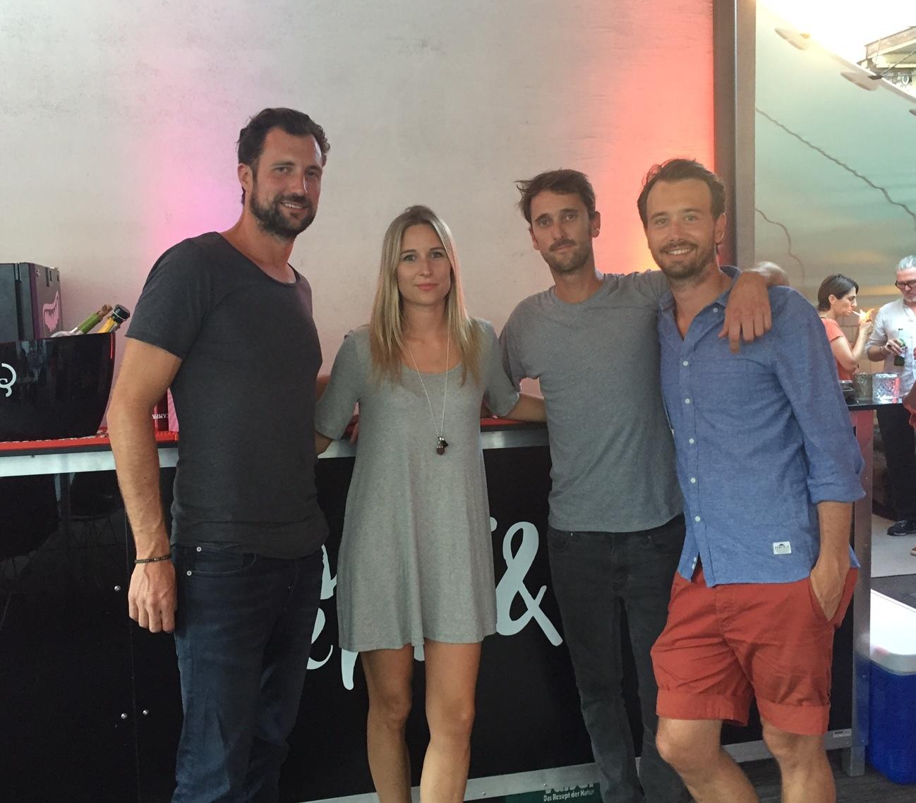 Fabian Plüss,, Danica Thalmann, Philipp Brunner and Renato Auer