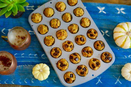 How to make Gluten-free, Sugar-free pumpkin spice muffins