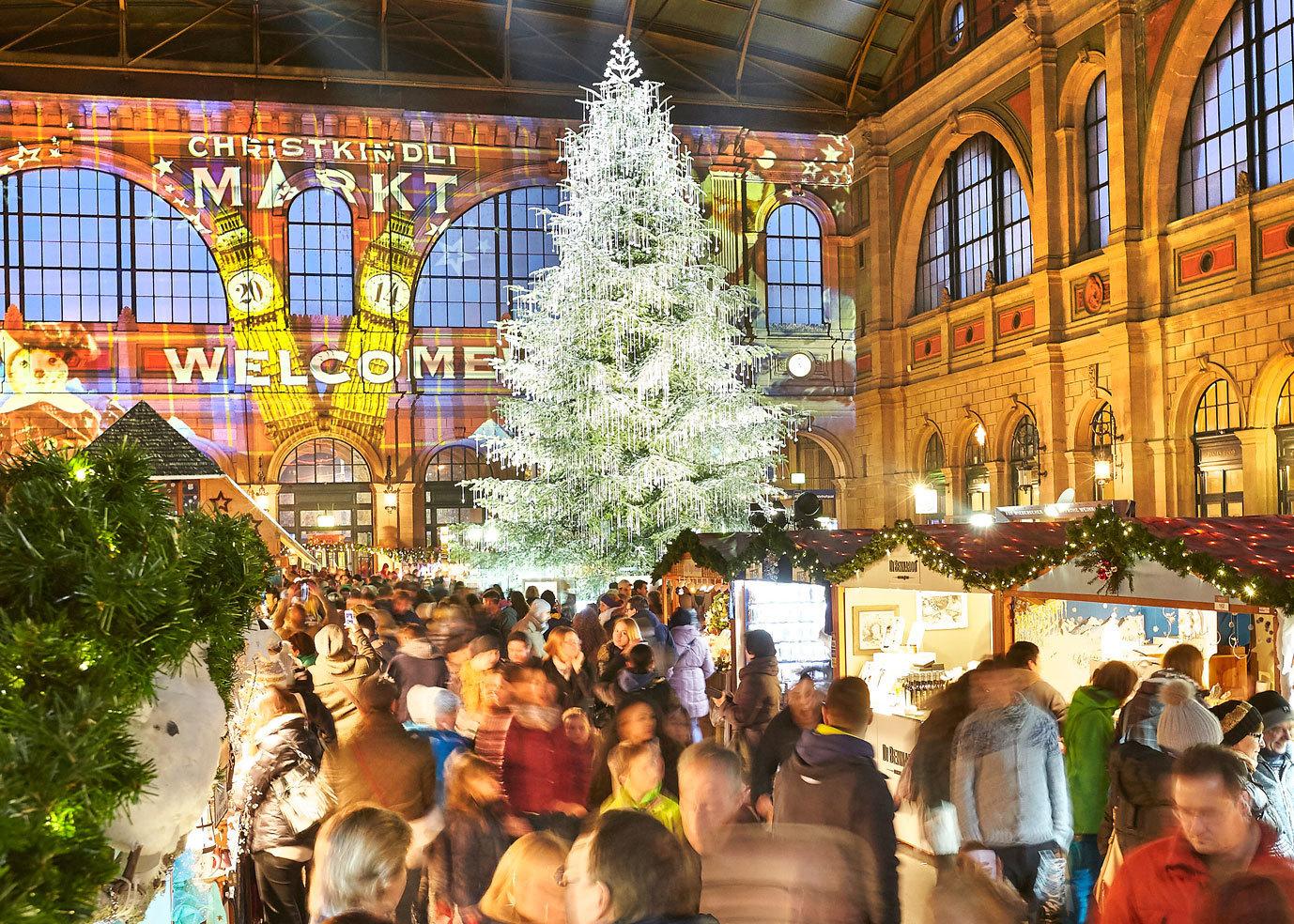 Calendar of Christmas markets in Zurich