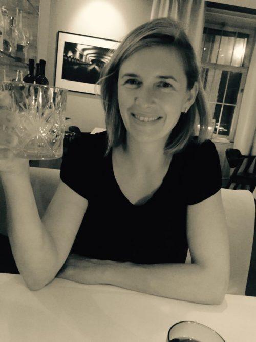 Me Enjoying A Glass Of Amaretto
